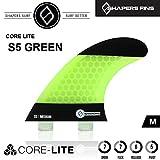 (シェイパーズ フィン) SHAPERS FIN【S5 Core-Lite Green】FCS フィン Mサイズ