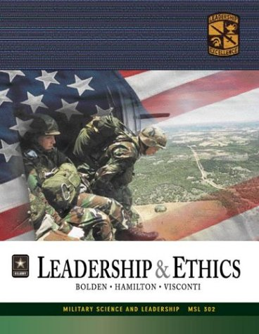 leadership-ethics-with-cdrom-military-science-and-leadership