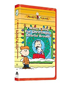 I Want A Dog For Christmas Charlie Brown Vhs from Paramount