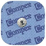 高精度EMSトレーニング機器 Compex performance/energy用 電極パッド・小(スナップタイプ・1パック4枚) 702002