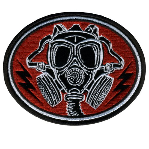Hot Leathers Gas Mask Patch (5