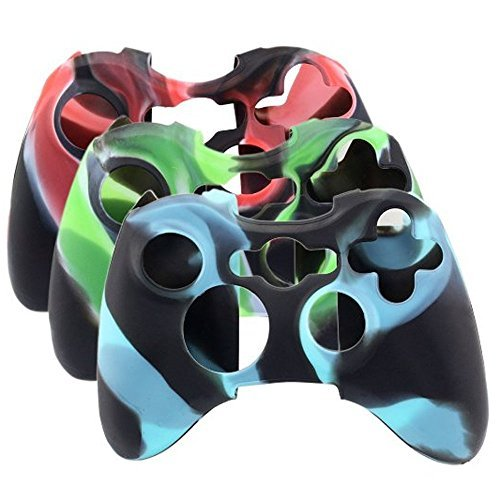 New Blue Wireless Game Controller Glossy For Microsoft ... H20 Delirious Controller