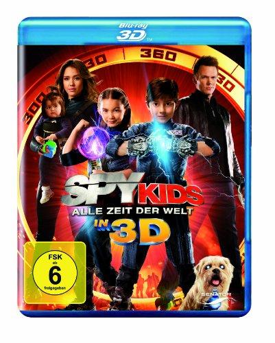 Spy Kids - Alle Zeit der Welt in 3D [Blu-ray 3D]