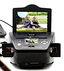 NEW! SVP Digital Film 35mm Negative & Slides Scanner w/ Build-in LCD + AV Out!