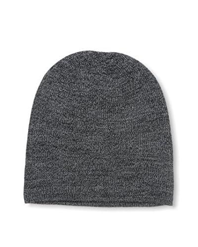 Cullen Men's Merino Knit Beanie, Ebony Marl