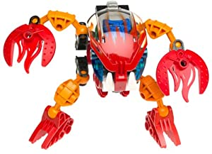 LEGO Bionicle BOHROK Figure #8563 Tahnok Red
