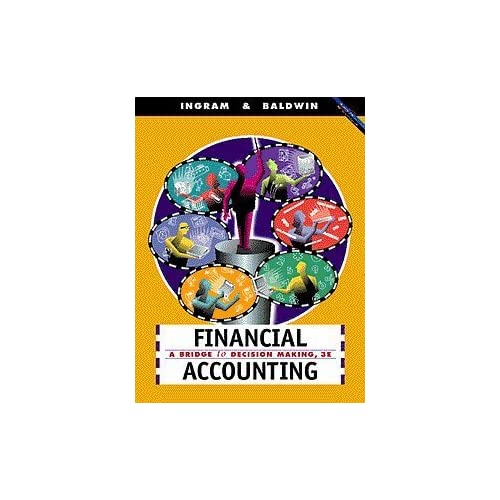 Financial Accounting: A Bridge to Decision Making Robert W. Ingram