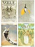 Vogue Vintage Covers Pop Art Poster Print Multi Birds (PDP 025)
