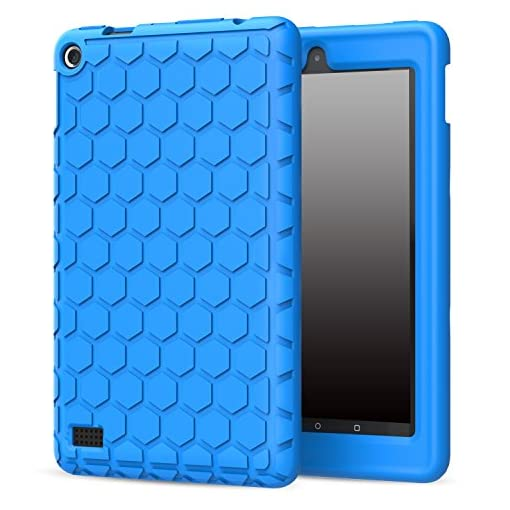 MoKo-Amazon-Fire-7-2015-Honey-Comb-Series-Cover-Case