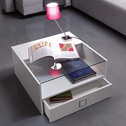 Maconi - Tavolino Box Rovere Sbiancato Art. 1115 Maconi - Finitura: Rovere Sbiancato