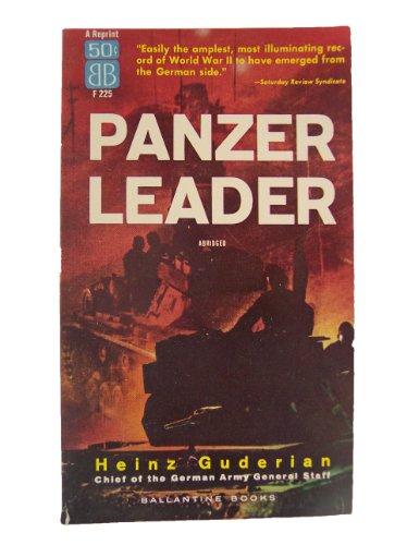 Panzer Leader, by Heinz Guderian