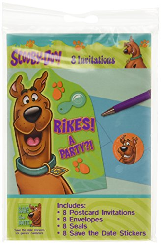 scooby-doo postcard invitations - 1