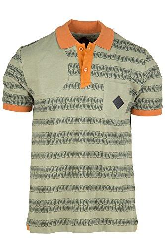 Moncler W polo t-shirt maglia maniche corte uomo verde EU L (UK 40) 41 09H 8309000