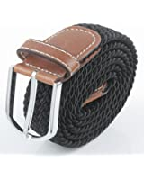 Aoneitem Men's Casual Braided Elastic Stretch Belt