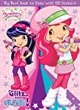 Strawberry Shortcake Big Best Coloring Book with Pastel Crayons (1)