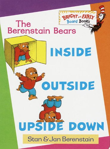 The Berenstain Bears Inside Outside Upside Down front-856757