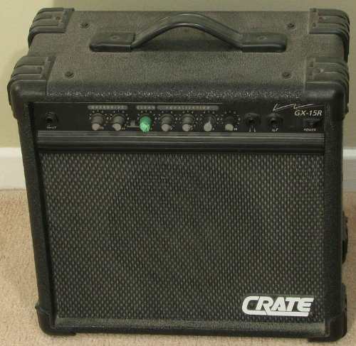 Very cheap guitar amplifiers discount crate gx 15r electric guitar crate gx 15r electric guitar amplifier review fandeluxe Gallery