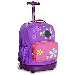 J World New York Aroma Kids\' Rolling Backpack