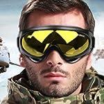 WOLFBIKE Snow Googles Windproof UV400...
