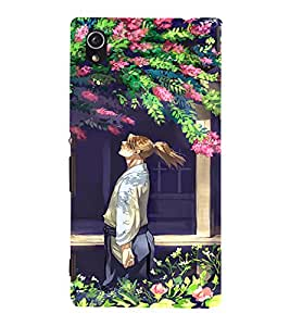 EPICCASE Garden Mobile Back Case Cover For Sony Xperia M4 Aqua Dual (Designer Case)