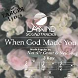 When God Made You [Accompaniment/Performance Track]