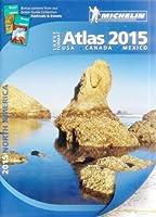 Michelin 2015 Road Atlas North America: USA, Canada, Mexico: Large Format