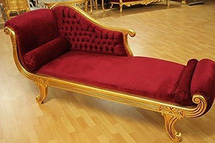 Barock Sofa Rokoko Louis XV AlSo0318GoRtSamt