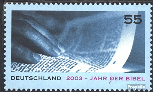 BRD (BR.Deutschland) 2312 (kompl.Ausg.) postfrisch 2003 Jahr der BIbel (Briefmarken für Sammler)