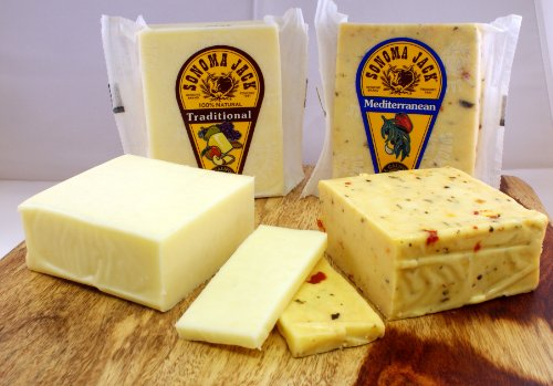 Sonoma Jack - Traditional 2.0 lbs & Mediterranean 2.0 lbs