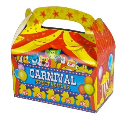 Adventure Planet Carnival Treat Boxes (Bulk Pack of 12 Boxes)
