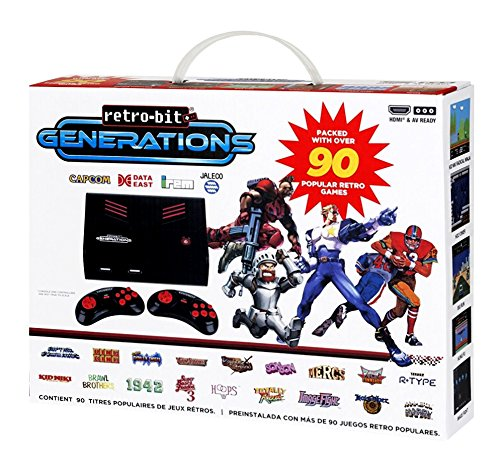 retro-bit-generations-plug-and-play-game-console-red-black-over-90-retro-games