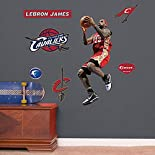 NBA LeBron James Throwback, In The Lane - Fathead Jr
