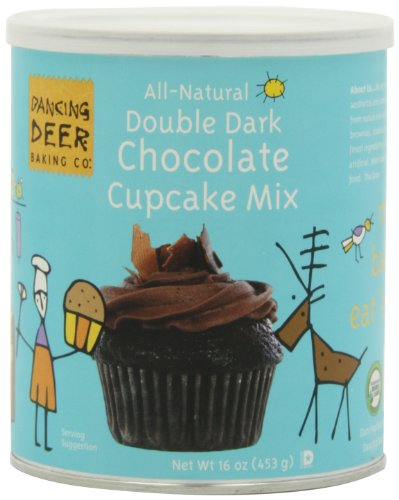 Dancing Deer Baking Mix, Double Dark Chocolate Cupcake Mix, 16 Ounce