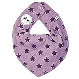 Pippi - Pañuelo para el cuello - para bebé niña Lilac-purple talla estándar