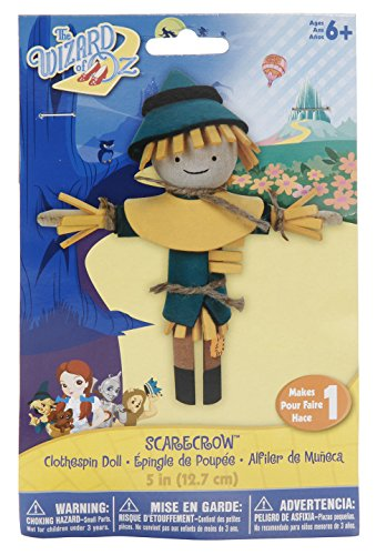 The Wizard of Oz Clothespin Doll Kit - Scarecrow - 1