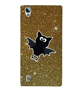 Bat Stars 3D Hard Polycarbonate Designer Back Case Cover for VivoY15S