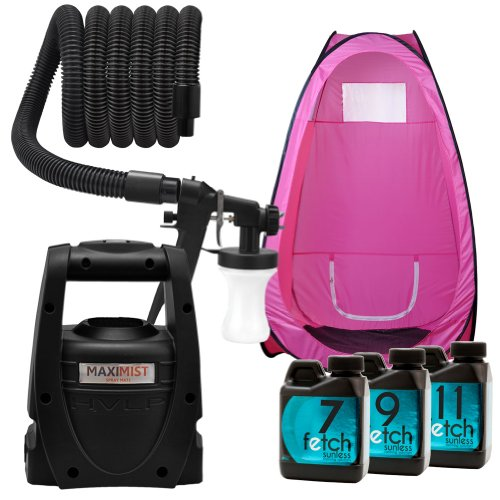 Maxi-Mist Mate Hvlp Machine Fetch Sunless Pink Spray Tanning Tent Dha Kit 1A front-777367