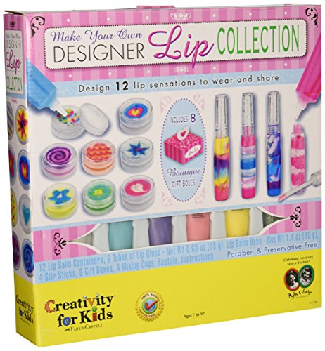 Creativity for Kids Make Your Own Designer Lip Collection (Makeup Making Kit compare prices)