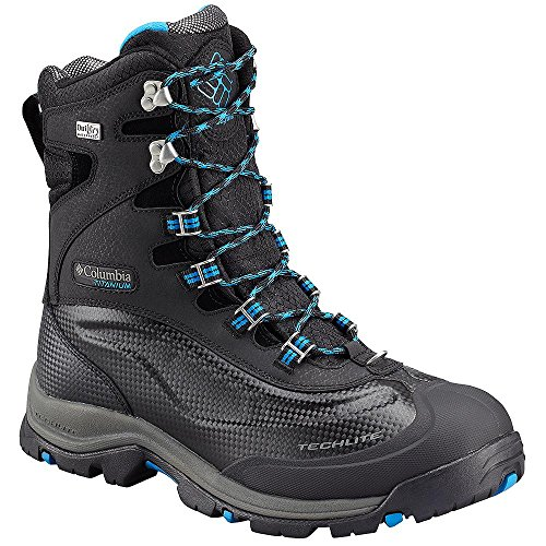 Columbia Men's Bugaboot Plus III Titanium Omni-Heat Boot Black, 11
