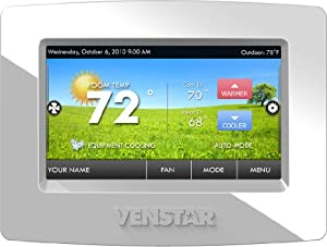 Venstar T5800 ColorTouch Touchscreen Programmable Thermostat