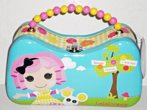 Lalaloopsy Crumbs Sugar Cookie Scoop Purse Tin