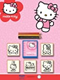 Toy - Multiprint Noris 631 5803 - Hello Kitty, 5er Stempel Set, 5 Stempel, sortiert