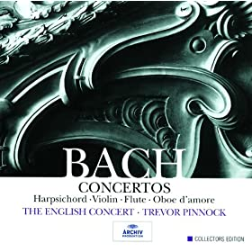 Concerto for Harpsichord, 2 Recorders, Strings, and Continuo No.6 in F, BWV 1057 - 1. --