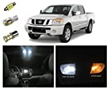 Nissan Titan LED Package Interior + Tag + Reverse Lights (14 pieces) thumbnail