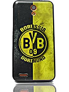 ECellStreet Exclusive Sparkle Printed Back Case Cover Back Cover For Infocus M260 -BVR