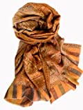 Jamawar Shawl -- Ultimate in Luxury -- Woven in Kashmir in Pure Hand-spun Pashmina -- Available in several colourways