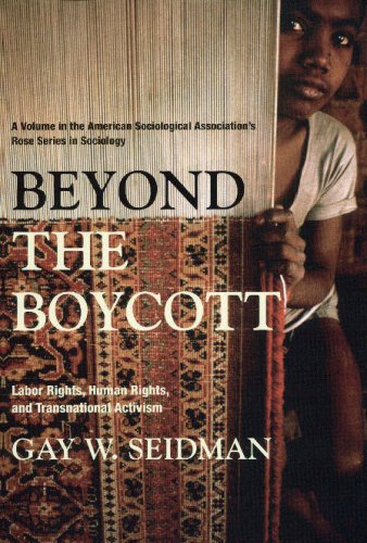 Beyond the Boycott: Labor Rights, Human Rights, and Transnational Activism (American Sociological Association's Rose Ser