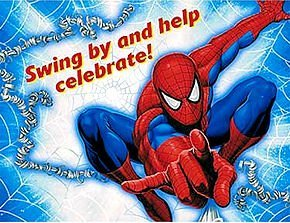 Spiderman Invitations 8ct - 1