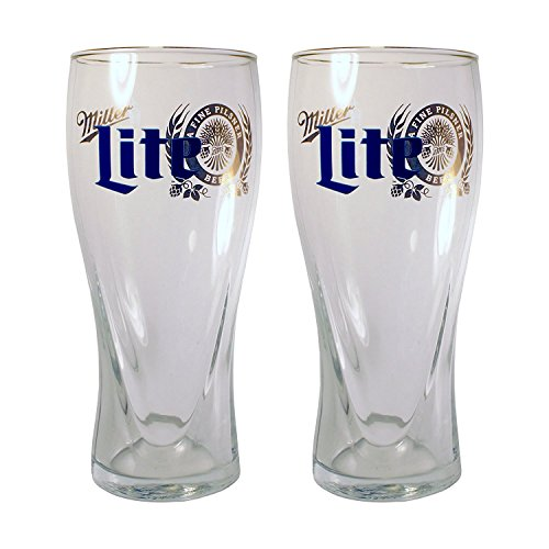 Libbey Miller Lite Beer glasses