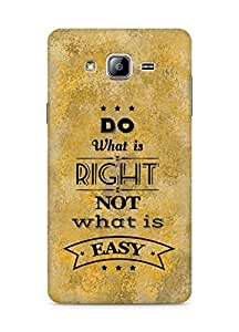 Amez Do what is Right Not what is Easy Back Cover For Samsung Galaxy ON5